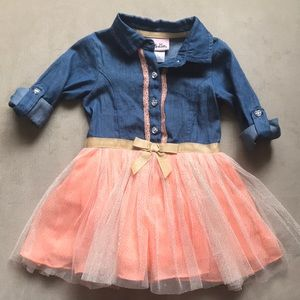 Toddlers tutu dress.